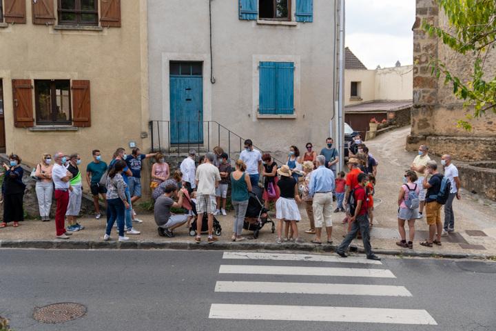 Visite commentée du village