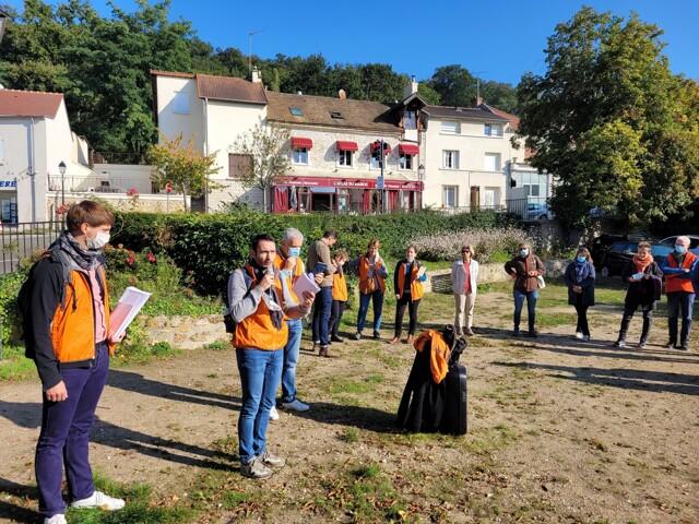 Balade Villageoise - Départ du tour PLU