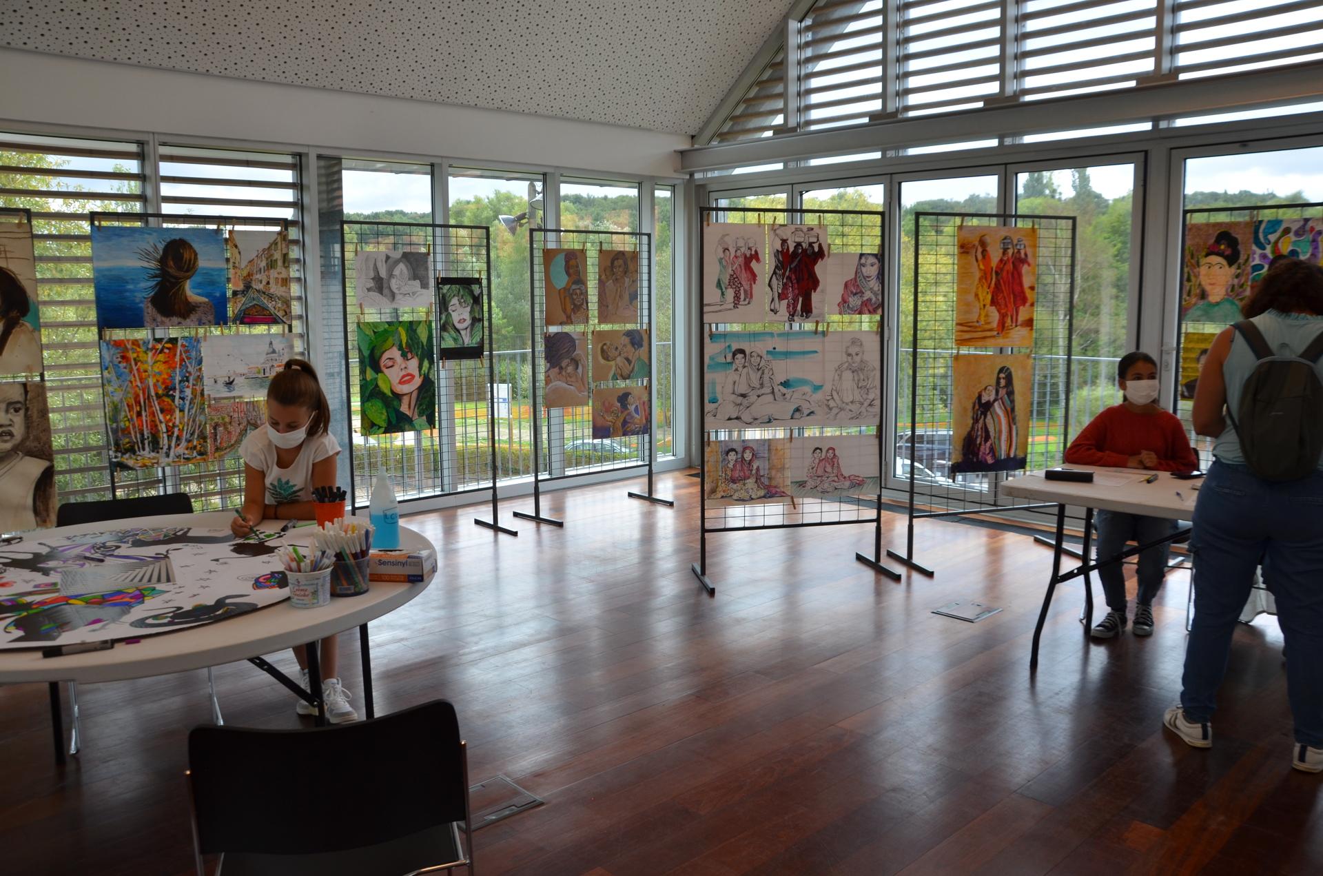 Village des associations 2020 - Atelier Peinture LCV