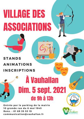 Affiche village associations