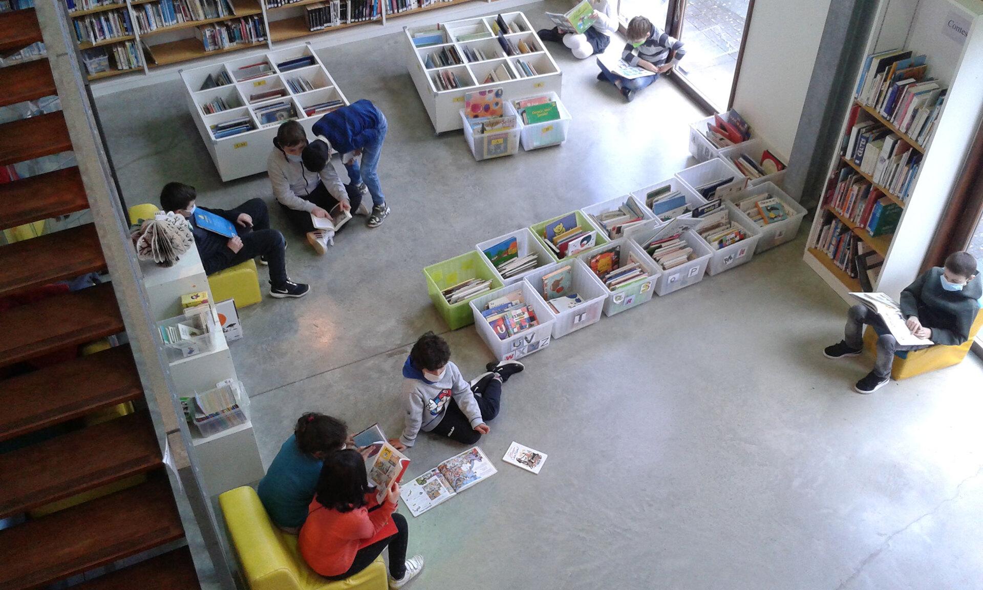 Bibliothèque - Intérieur