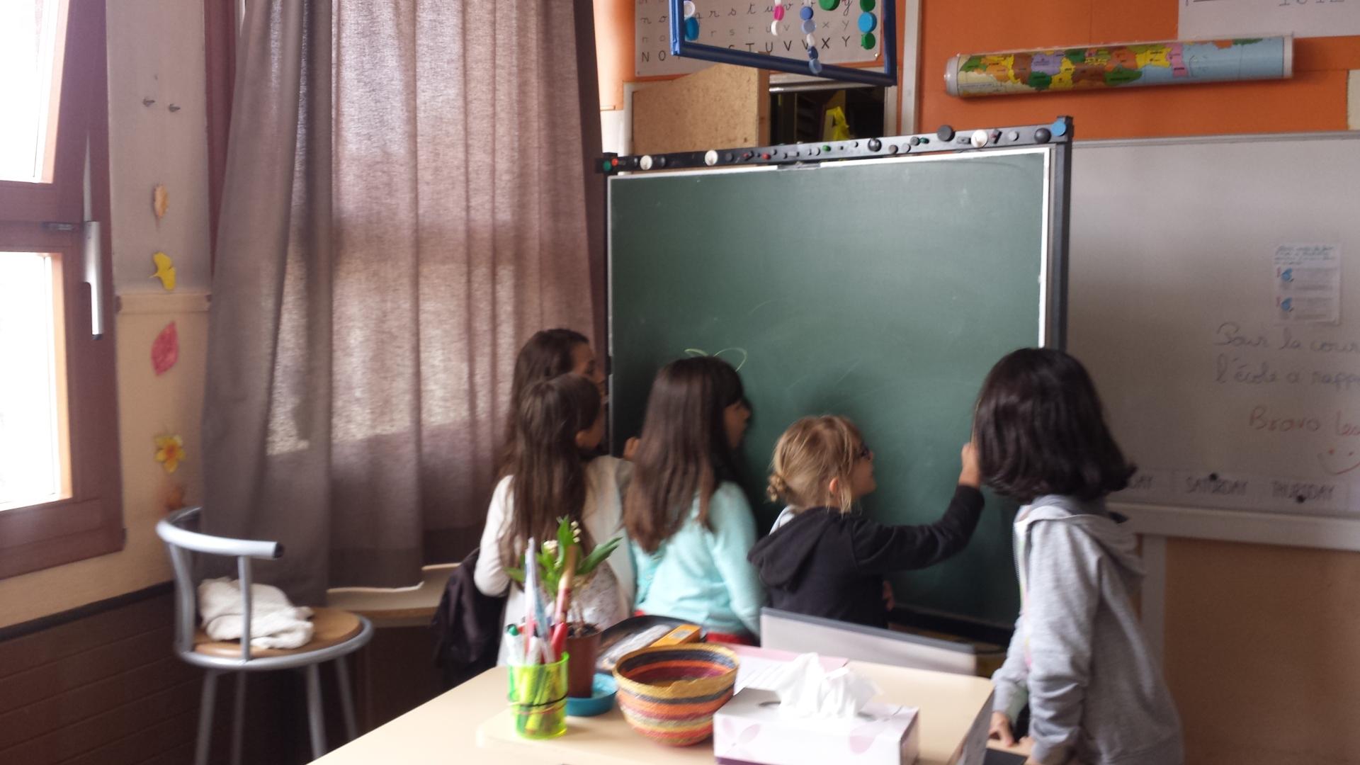 Salle de classe - école élémentaire