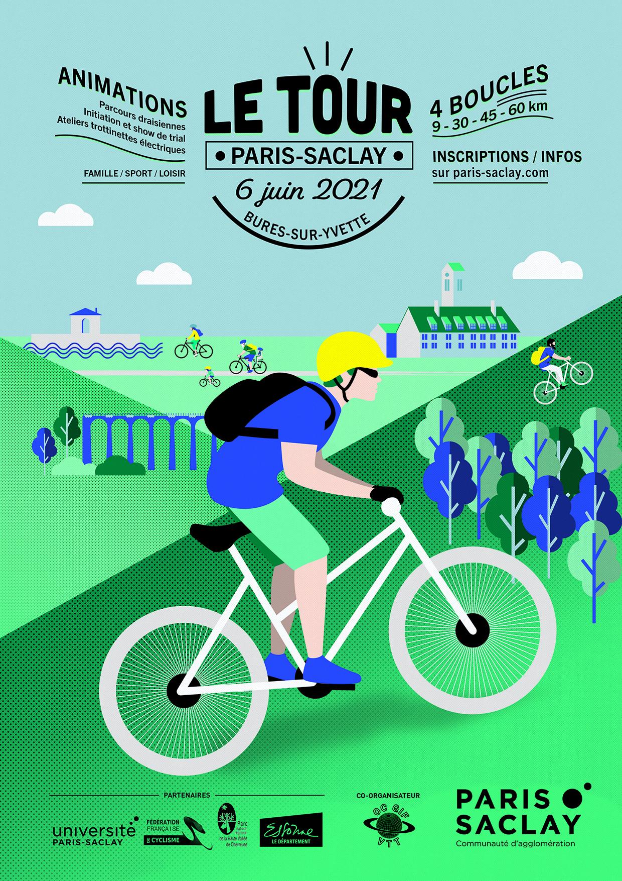 Le Tour Paris Saclay (TPS) 2021